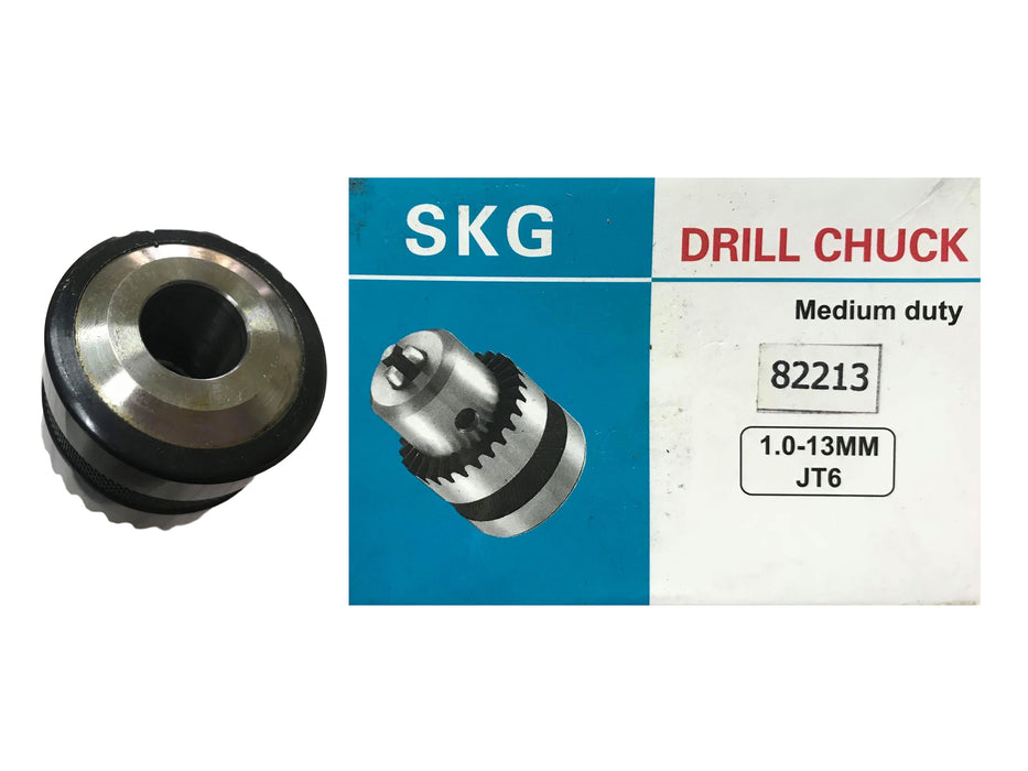 SKG 82213 Tapered Drill Chuck (13mm x JT6) - goldpeak-tools-ph