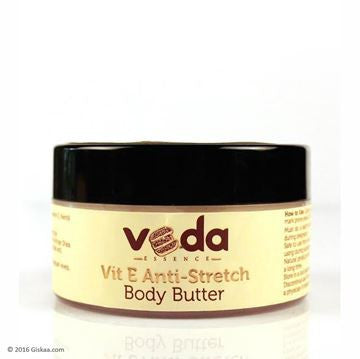 Veda Essence Natural & Pure Vit E Anti-Stretch Shea Body Butter 150 ML