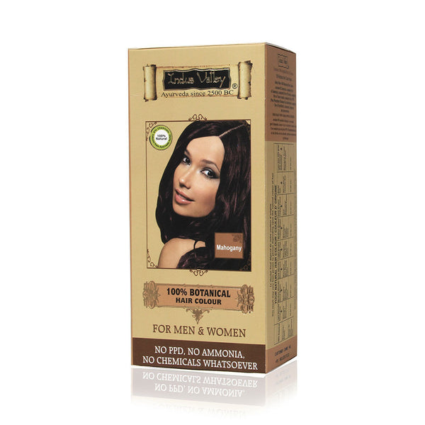 Indus Valley Botanical Colour- Mahogany Kit - 180 gm