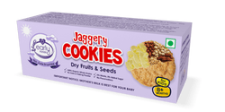 Early Foods Organic Dry fruits and Seeds Jaggery Cookies 150g
