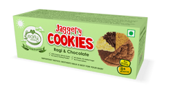 Early Foods Organic Ragi and Choco Jaggery Cookies 150g