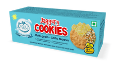 Early Foods Organic Multi-grain/Sattu Mavu Jaggery Cookies 150g