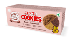 Early Foods Organic Ragi & Amaranth Jaggery Cookies 150g