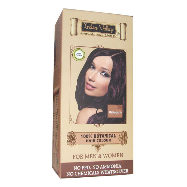 Pure Naturals - Indus Valley Botanical Hair Color - Mahogany Kit - 180 Gms