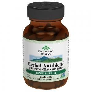 Organic India Herbal Antibiotic 60 Capsules