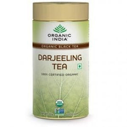 Organic India Darjeeling Tea 100 Gms Tin