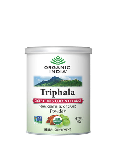Organic India Triphala Powder 100 Gms