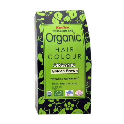 Radico Colour Me Organic Golden Brown Hair Colour - 100gm