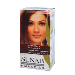 Radico Sunab Herbal Soft Black Hair Color - 60gm