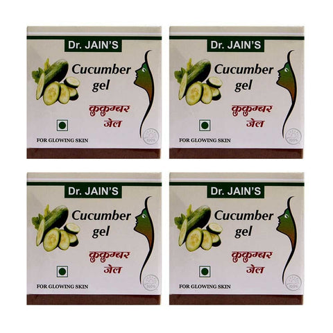 Dr. Jain's Cucumber Gel 100 Gms (Set of 4)