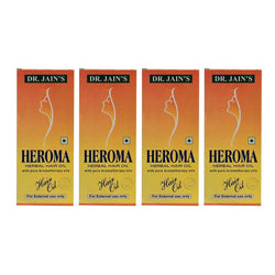 Dr. Jain's Heroma Herbal Hair Oil 100 ML (Set of 4)