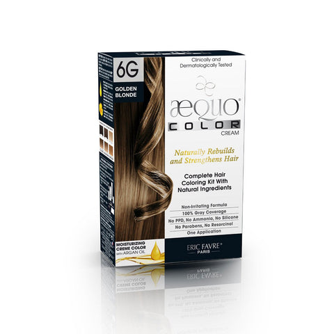 Aequo Color Golden Blonde Organic Hair Colour Kit - 160ml