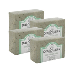 Pure Naturals Hand Made Soap Mint| Sesame Seeds - 125g (Set of 4)