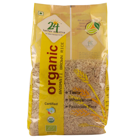 24 Letter Mantra Basmati Rice Premium Brown 1 Kg