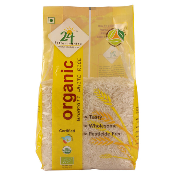 24 Letter Mantra Basmati Rice Premium Polished 1 Kg