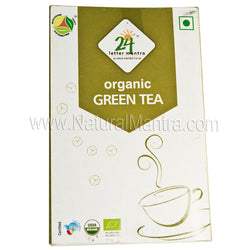 24 Letter Mantra Organic Green Tea
