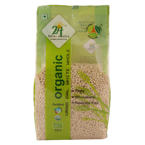 24 Letter Mantra Urad Dal White Whole 500 gms