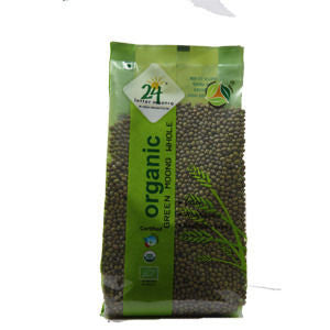 24 Letter Mantra - Green Moong Whole Dal (500 gms)
