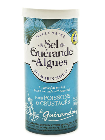 Sel De Guerande - Organic Fine Sea Salt With Seaweeds