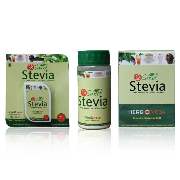 All Natural So Sweet - Stevia Combo Kit