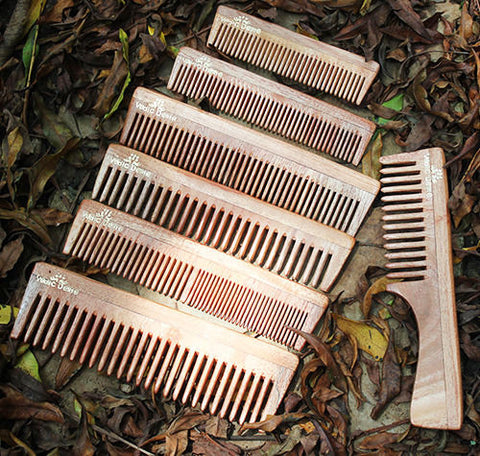 Vedic Delite Neem Wooden Hair Care Styling Combs
