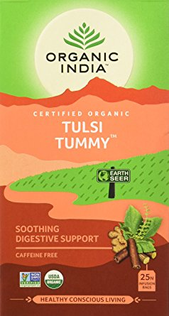 Organic India Tulsi Tummy Tea 25 Tea Bags