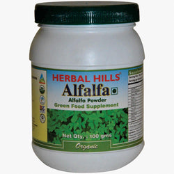 Herbal Hills Alfalfa Powder 100 gm