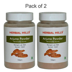 Herbal Hills Arjuna Powder 100Gms Pack of 2