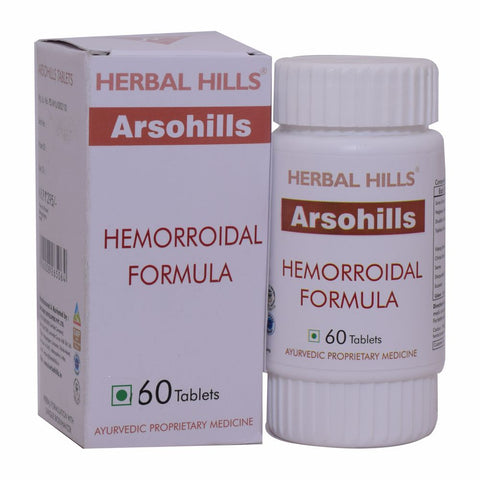 Herbal Hills Arsohills Veg 60 Tablets