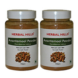 Herbal Hills Anantamool Powder 100Gms Pack of 2