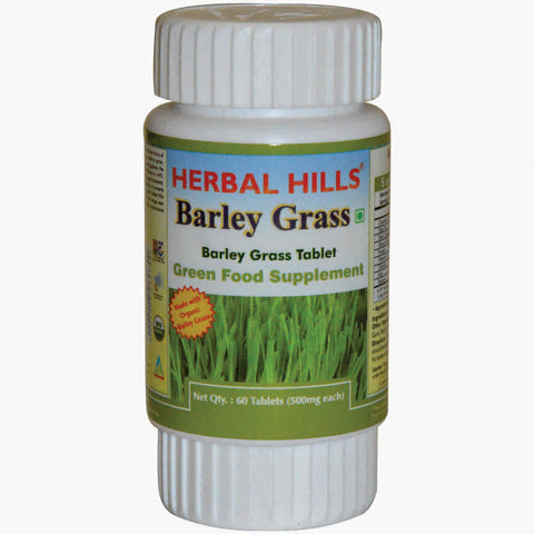 Herbal Hills Barley Grass Veg 60 Tablets
