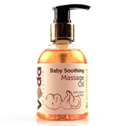 Veda Essence	Baby Soothing Massage Natural & Pure Oil 150ml