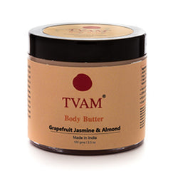 TVAM Body Butter Grapefruit Jasmine & Almond 100Gm