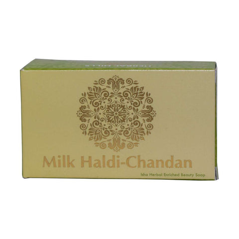 Herbal Hills Milk Chandan Turmeric Soap