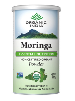 Organic India Moringa Powder 100g Can
