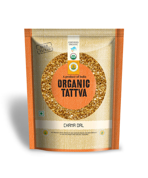 Organic Tattva Organic Chana Dal 500 gm