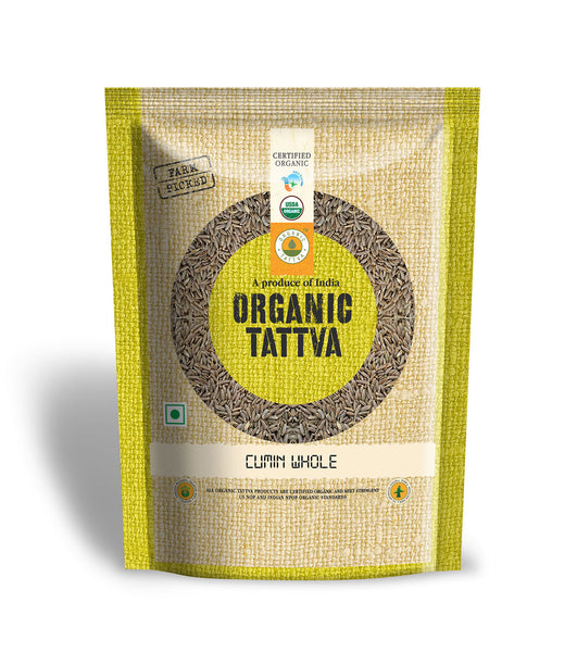 Organic Tattva Organic Cumin Whole 100 gm