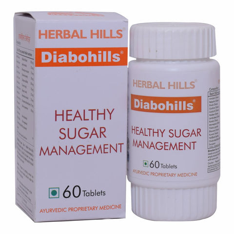 Herbal Hills Diabohills Veg 60 Tablets