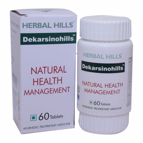 Herbal Hills Dekarsinohills 60 Veg Tablets