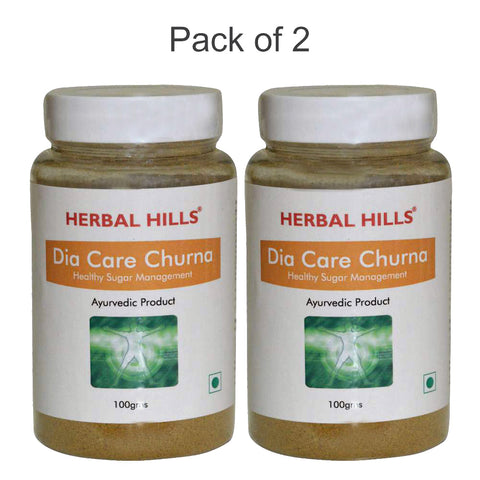 Herbal Hills Dia Care Churna 100Gms pack of 2