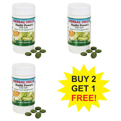 Herbal Hills Dudhi Power ( Bottle Gourd) 60 Tablets  Buy 2 Get 1 FREE