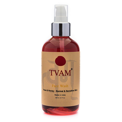 TVAM Face Wash - Rose, 200 ml