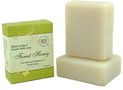 SOS Organics Handmade soap Forest Honey