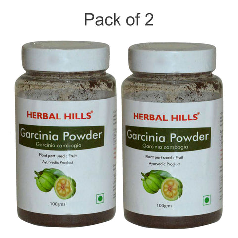 Herbal Hills Garcinia Powder 100Gms Pack of 2