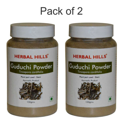 Herbal Hills Guduchi Powder 100Gms Pack of 2