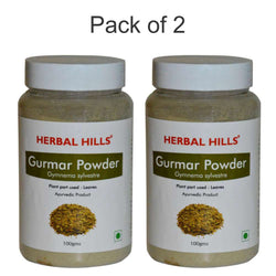 Herbal Hills Gurmar Powder 100Gms Pack of 2