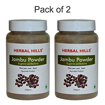 Herbal Hills Jambu Beej Powder 100Gms Pack of 2