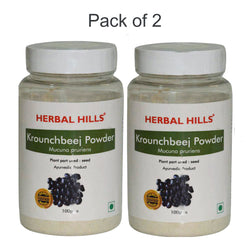 Herbal Hills Krounchbeej Powder 100Gms Pack of 2