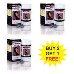 Herbal Hills Keshohills 60 Tablets  Buy 2 Get 1 FREE