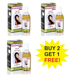 Herbal Hills Keshohills Ultra Oil 100 ml  Buy 2 Get 1 FREE